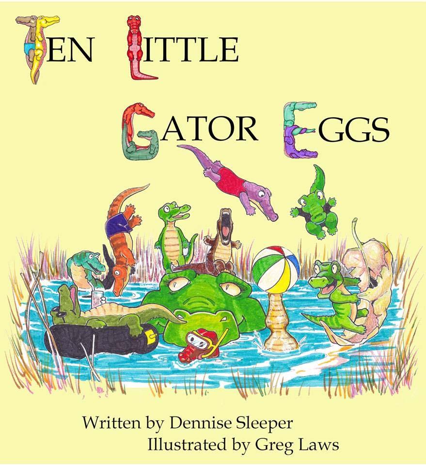 Ten Little Gator Eggs cover